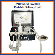 Dntlworks Propak Ii Portable Dental Delivery Unit With A.v.s. Suction Pn 1050