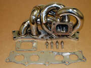 For Celica 5sfe Ct26 Ct20 Stainless Turbo Manifold Header