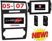 05 06 07 Dodge Charger Magnum Double Din Car Radio Stereo Installation Dash Kit