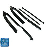 1963-91 Jeep Grand Wagoneer Vent Window Seal And Vertical Kit - Kd4020