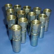 Parker 3/4-16 Npt 1/2 Tube O.d. Hydraulic Fittings 10655-8-6 New Lot Of 13