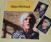 Robyn Hitchcock Autographed Photo And Photos- Real Collectible