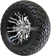 12 Rhox Rx270 Wheel With Tire Combo And Club Car Golf Cart Lift Kit