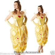 C891 Beauty And The Beast Belle Deluxe Disney Fairytale Fancy Adult Costume
