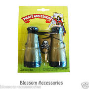 As118 Deluxe Binoculars Nautical Pirate Captain Party Costume Accessory