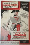 1940 Pittsburgh Pirates Vs Chicago Cubs Baseball Program Opening Day