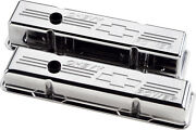 Billet Specialties Chevy Power Polished Aluminum Sbc Tall Valve Covers,chevy