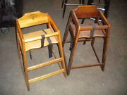 Lot Of 2 Children Restaurant High Chairs - Need This Sold - Send Me Best Offer