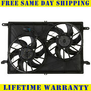 Radiator And Condenser Fan For Gmc Acadia Chevrolet Traverse Gm3115219