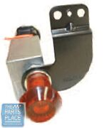66 Chevrolet Full Size Accessory 4 Way Hazard Flasher Switch And Chrome Face Plate