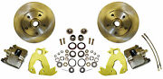 1960-70 Chevy Truck Complete Bolt-on Front Disc Brake Economy Kit 12 Rotors