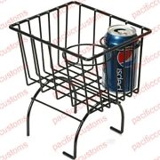 Retro Looking Wire Storage Basket Cup Holder Fits All Vw Beetle Console Black