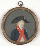 Napoleonic Cavalry Officer Arnoult From Dijon French Miniature 1801