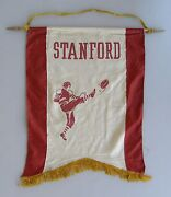 Pair Of Stanford And Pittsburgh College Football Banners 1922