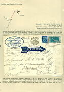 Italy 1930 Balbo Mass Flight To Rio Signed By All 18 Pilots And Franked W/c27