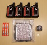 New 2013-2014 Honda Gl1800 Gold Wing F6b Oe Complete Oil Service Tune-up Kit