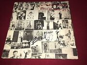 The Rolling Stones Signed Exile On Main Street Lp Album Keith Richards Proof
