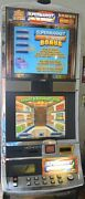 Williams Coinless Video Slot Machine Supermarket Sweep Dual Lcd Screen- Wms