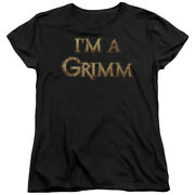 Grimm Police Drama Supernatural Tv Series Nbc Iand039m A Grimm Womenand039s T-shirt Tee