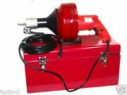 Portable Electric Snake Drain Plumbing Cleaner Auger Unclog Wire Drainer
