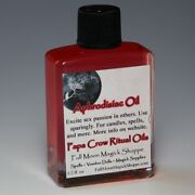 Aphrodisiac Oil Anoint Candles Use Spells Wicca Voodoo Full Moon Sex Magic