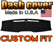 Fits 2010-2014 Ford Mustang Dash Cover Mat Dashboard Pad / Black