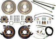 Currie Disc Brake Kitlines And Cablerear Parkingbig Ford New11 Rotors5x5.5