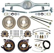 Currie 66-77 Bronco Rear End And Disc Brakes,lines,parking Brake Cables,axles,etc