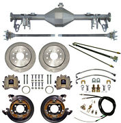 Currie 05-13 Mustang Rear End And Disc Brakeslinesparking Brake Cablesaxlesetc