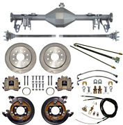 Currie 05-13 Mustang Rear End And Disc Brakes,lines,parking Brake Cables,axles,etc