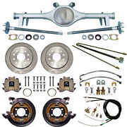 Currie 64-66 Gm A-body Rear End And Disc Brakes,lines,parking Brake Cables,axles,+