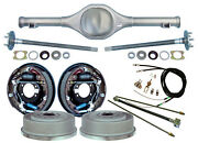 Currie 82-97 S-10 And Blazer Rear End And 11 Drum Brakeslinesparking Cablesaxles
