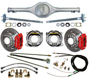 Currie 82-97 S-10 And Blazer Rear End And Wilwood Disc Brakesredlinescablesaxles