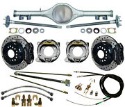 Currie 67-69 Stag Shock F-body Multi-leaf Rear End And Wilwood Disc Brakes,drilled