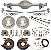 Currie 82-92 Gm F-body Rear End And Disc Brakes,lines,parking Brake Cables,axles,+