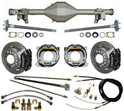 Currie 82-92 Gm F-body Rear End And Wilwood Disc Brakeslinese-brake Cablesaxles
