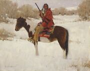 David Mann Winterand039s Whisperer Le Coa Included Artist Signed Mint Condition