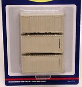 Athearn 20and039 Containers - U.s. Military - Case Lot