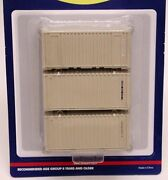 Athearn 20' Containers - U.s. Military - Case Lot
