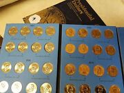 Volume 1 Complete Set X2 Pandd And Aandb 2007-2011 Presidential Gold Dollar 80 Coins