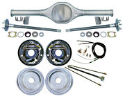 Currie Rear End And 10 Drum Brakes,lines,parking Cables,fits Jeep Wranger Yj,8795