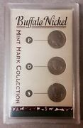 Lot Of 4 Sets- Buffalo Nickel Columbian Expo Americaand039s Obsolet Roosevelt Dime