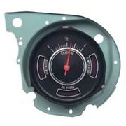 1969 Chevrolet Chevelle Factory Oe Fuel Dash Gauge Cluster With Idiot Lights