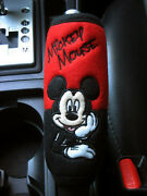 Mickey Mouse Car Accessory C Hand Brake, Side Brake, Handle Cover Red,black