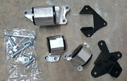 Hasport Replacement Motor Mount Kit For Rsx K-series / Civic Si Ep3 Dc5stk 62a