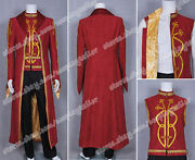 Legend Of The Seeker Cosplay Darken Rahl Costume Deluxe Design Suit Slim Fit