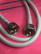 Vhf Radio Marine Antenna Cable 3 Foot Rg-8x Coaxial With Pl-259 Made In Usa