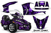 Can-am Brp Spyder Rt Rt-s Graphics Kit Creatorx Decals Scpr