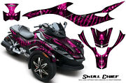 Can-am Brp Spyder Rs Gs Graphics Kit Creatorx Decals Wrap Scp