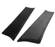 Chevrolet Chevy Running Board Mat / Cover Set Moulded Rubber No Insert 1939